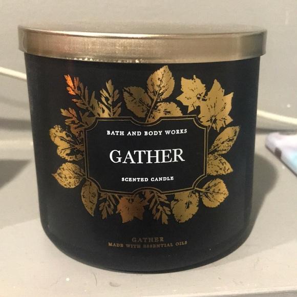 Gather Bath & Body Works 3 Wick Candle